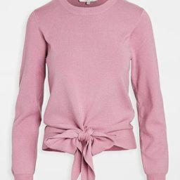 Milo Knot Front Sweater | Shopbop