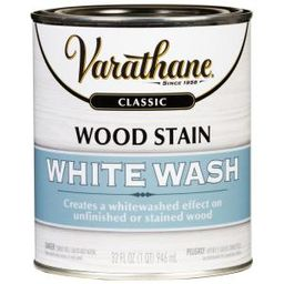 Varathane 1 qt. White Wash Interior Wood Stain-349565 - The Home Depot | The Home Depot