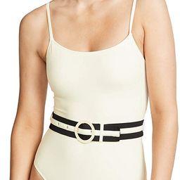 Women's The Nina Belt One Piece Swimsuit | Amazon (US)