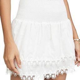 Women's Ruffle Miniskirt | Amazon (US)