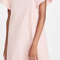 Fan Sleeve Poplin Mini Dress | Shopbop