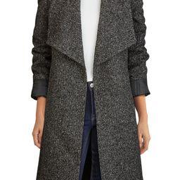 Wool Blend Tweed Wrap Coat | Nordstrom