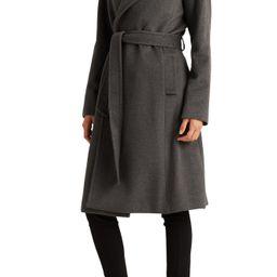 Wool Blend Wrap Coat | Nordstrom