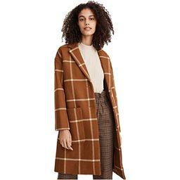 Madewell Windowpane Elmcourt Coat in Insuluxe Fabric   Zappos