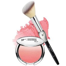 IT Cosmetics CC Radiance Ombre Blush with French Boutique Brush   QVC