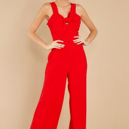 Always Wanting You Red Jumpsuit | Red Dress