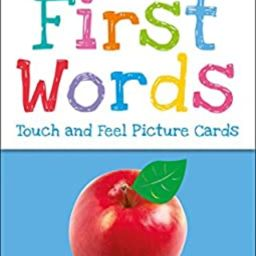 My First Touch and Feel Picture Cards: First Words (My 1st T&F Picture Cards)   Amazon (US)