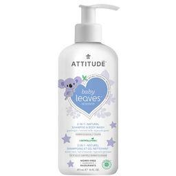 ATTITUDE Baby Leaves 2-in-1 Night Shampoo & Body Wash Almond Milk | Well.ca