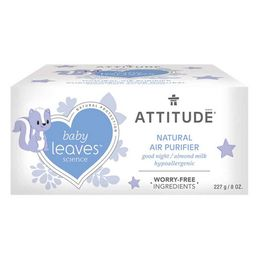 ATTITUDE Baby Leaves Air Purifier Night Almond Milk | Well.ca