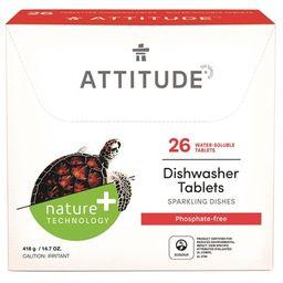 ATTITUDE Dishwasher Detergent Eco Pouches   Well.ca