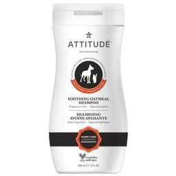 ATTITUDE Furry Friends Soothing Oatmeal Pet Shampoo Fragrance Free   Well.ca