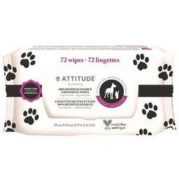 Attitude 100% Biodegradable & Natural Pet Grooming Wipes   Well.ca