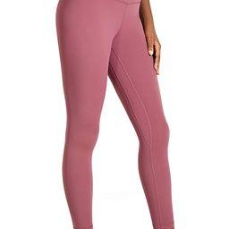 CRZ YOGA Women's Naked Feeling I High Waist Tight Yoga Pants Workout Leggings - 25 Inches | Amazon (US)