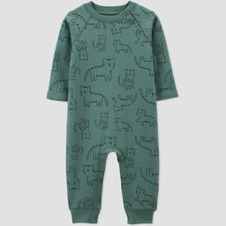 Baby Boys' Tiger Jumpsuit - Just One You® made by carter's Green | Target