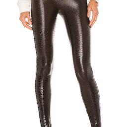 Faux Leather Croc Leggings   Revolve Clothing (Global)