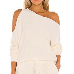 Lanston One Shoulder Pullover in Winter from Revolve.com   Revolve Clothing (Global)