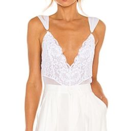 HAH Cheap And Cheerful Bodysuit in Blanc from Revolve.com   Revolve Clothing (Global)