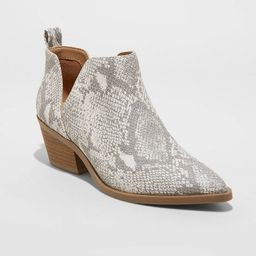 Women's Cari Cut Out Ankle Boots - Universal Thread™   Target