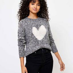 Heart Sweater   LOFT