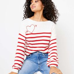 Petite Cupid Boatneck Sweater   LOFT