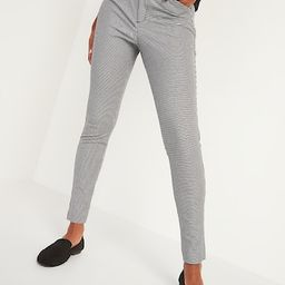 High-Waisted Pixie Full-Length Patterned Pants for Women | Old Navy (US)