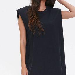 T-Shirt Shoulder Pad Dress | Forever 21 (US)