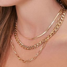 Layered Chain Necklace | Forever 21 (US)