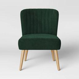 Chelidon Velvet Slipper Chair - Opalhouse™ | Target