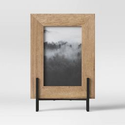 """4"""" x 6"""" Natural Frame with Stand Brown - Project 62™ 