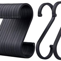 ACMETOP S Hooks, 12 Pack Aluminum S Shaped Hooks, Matte Finish S Hooks for Hanging Pots and Pans,...   Amazon (US)