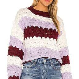 BB Dakota Hot Balloon Sweater in Steel Lavender from Revolve.com | Revolve Clothing (Global)