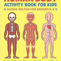 Human Body Activity Book for Kids: Hands-On Fun for Grades K-3 | Amazon (US)