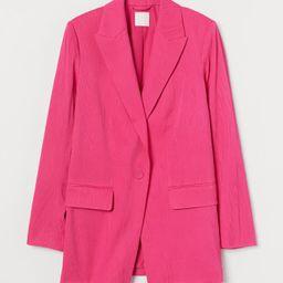 Jacquard-weave Jacket | H&M (US)