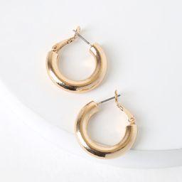 Tantalizing Gold Hoop Earrings | Lulus (US)