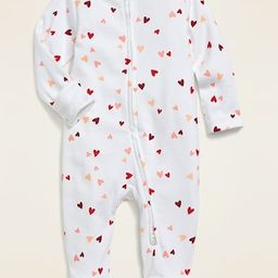 Unisex Printed Footie Pajama One-Piece for Baby | Old Navy (US)