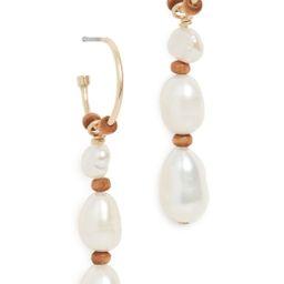 Beach Pearl Earrings | Shopbop
