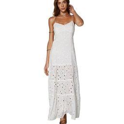 White Ana Long Dress | ViX Swimwear