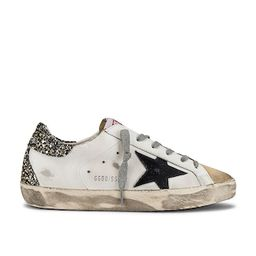 Golden Goose Superstar Sneaker in Cappuccino, White & Black from Revolve.com | Revolve Clothing (Global)