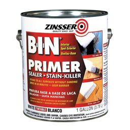 ZinsserB-I-N Interior Multi-Purpose Shellac Wall and Ceiling Primer (1-Gallon)   Lowe's