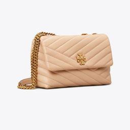Kira Chevron Small Convertible Shoulder Bag   Tory Burch (US)