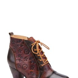 Women's L'Artiste Lewi Lace-Up Bootie, Size 6.5-7US - Green | Nordstrom