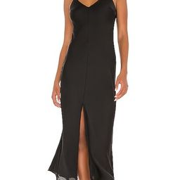 Free People Smoke & Mirrors Maxi Slip Dress in Black. - size M (also in L, S, XS) | Revolve Clothing (Global)