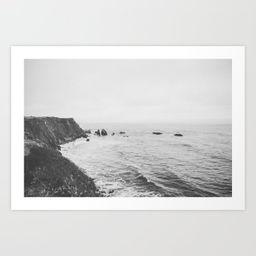 CALIFORNIA COAST Art Print | Society6