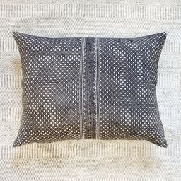 18x22 Embroidered Grey Pillow Case Vintage Textile Designer | Etsy | Etsy (CAD)