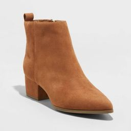 Women's Valerie City Ankle Bootie - A New Day™ | Target
