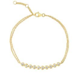 Double Chain Diamond Bracelet | Ring Concierge