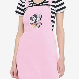 Disney Valentine's Mickey Mouse & Minnie Mouse Skirtall   Hot Topic
