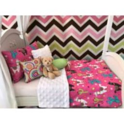 "American Girl 18"""" Doll Bedding Set, 6 Pc. Happy Llama | Etsy (US)"