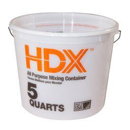 HDX 5 qt. Mixing Bucket-RG522HD - The Home Depot   The Home Depot