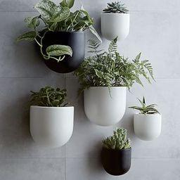 Ceramic Indoor/Outdoor Wallscape Planters   West Elm (US)